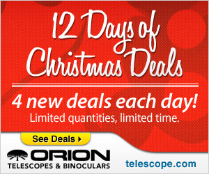 Orion's 12 Days of Deals!