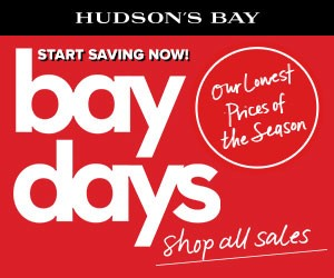 (4/8 – 4/14) Canada Loves Bay Days! Shop out lowest prices of the season