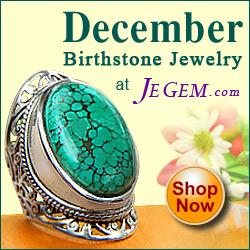 JeGem.com ~ Shop December Birthstones