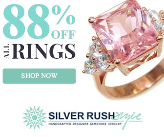 20% OFF on All Ruby Jewelry! at www.SilverRushStyle.com