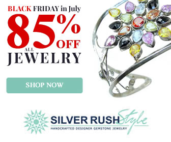 Buy one Bracelet and Get One 55% OFF at www.SilverRushStyle.com