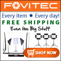 Free Shipping, every item, every day. Photography gear from Fovitec.com