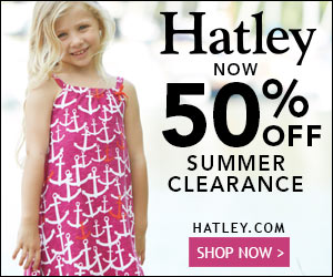50% off Summer Sale on Hatley.com