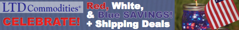 Celebrate! Red, White & Blue Savings! + Shipping Deals