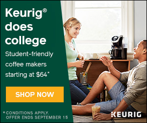 Back to School! Keurig K15 brewer now only $64 (was $99.99) at Keurig.ca! (no coupon code required,