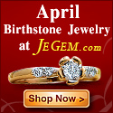 Check out April Birthstone Jewelry at JeGem.com!