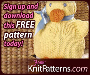Free Knitted Waddle Duck Pattern