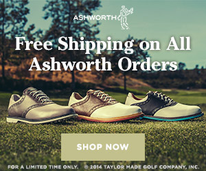 Ashworth Free Shipping