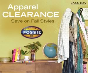 Fall Clearance at Fossil.com