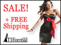 TJ Formal Sale and Free Shipping