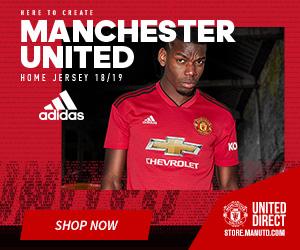 2018/19 Manchester United Home Kit