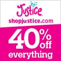 Shopjustice 125x125 Logo Banner