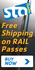 Free Shipping on European Rail Passes