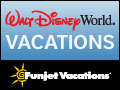 Walt Disney WorldB. Vacations