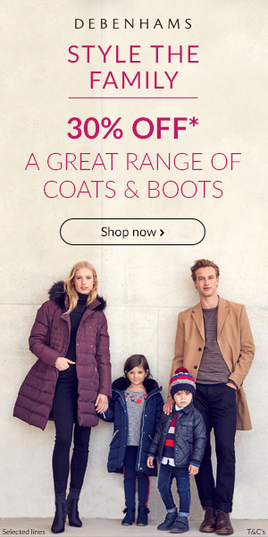 Coat and boots banners