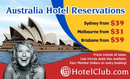 Discount hotels in Australia