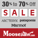 Get 30% to 70% off at Moosejaw.com