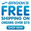Brooks Free Shipping w/$75