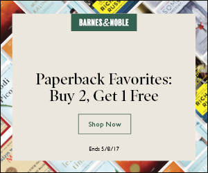 Favorite Paperbacks: Buy 2 Get 1 Free