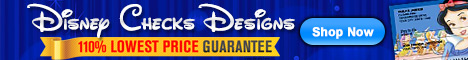 Checks Superstore Disney Designs Lowest Price Guarantee