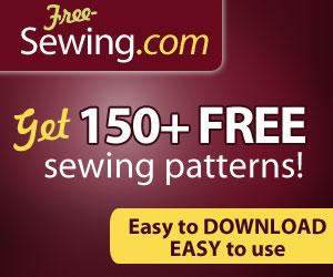 150+ FREE Sewing Patterns