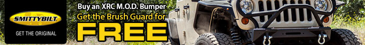 Buy a Smittybilt XRC M.O.D. Bumper and get a brush guard FREE