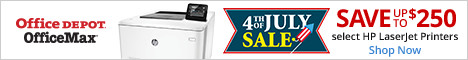 4th of July Sales Event (Sun-Tues)  Save up to $250 select HP LaserJet printers!