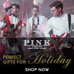 Thomas Pink: Perfect Gifts For Holiday