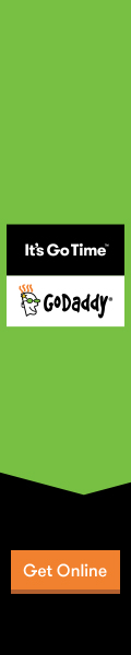 Your Website Works while you play! Start with a $1.99 .Com Domain from GoDaddy!