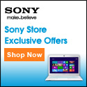 Exclusive savings at Sony Style
