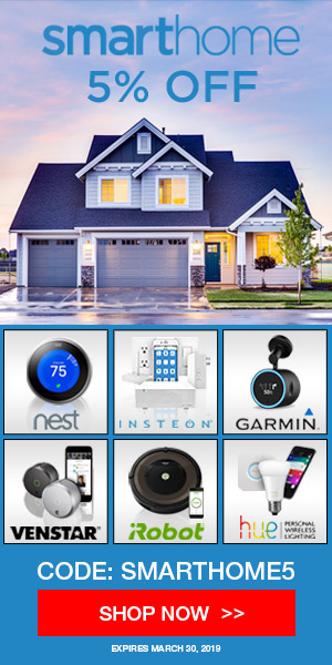 Smarthome 5% off coupon SMARTHOME5
