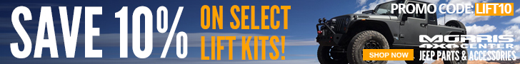 Save 10% on select Lift Kits & Accessories