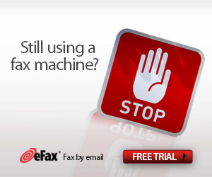 Replace your Fax Machine with eFax