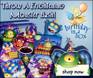 Birthday in a Box Monsters