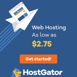 Blue Reliable Web Hosting - 250x250