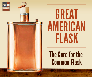 AMERICA'S ORIGINAL AND MOST BEAUTIFUL FLASK