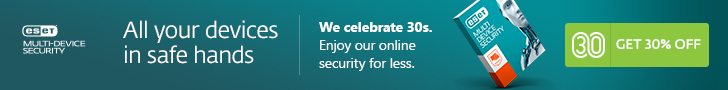 Save 30% in the ESET May Sale