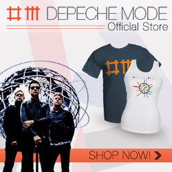 Depeche Mode Store - Shop Today