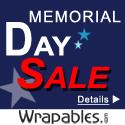 Memorial Day Sale. Big Savings + Free Shipping!