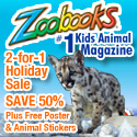 2-for-1 Holiday Sale on Zoobooks