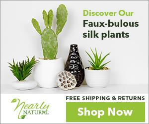 300x250 Silk Plants