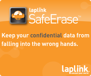 Erase your data for complete PC protection.