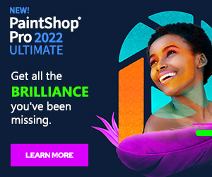 Save 50% - PaintShop Pro 2018 Ultimate
