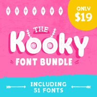 SALE!! 96% OFF Over 50 Fonts and Typefaces