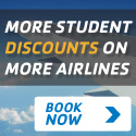 Lowest Price on Student Airfare Guaranteed
