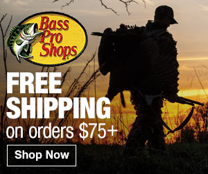 Bass Pro Shops - Free Shipping on orders $25+