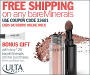 FREE Gift!  Get a FREE eyelid primer with any bare