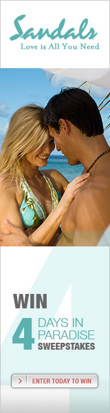 Enter to Win 4 FREE Nights At Sandals Resorts