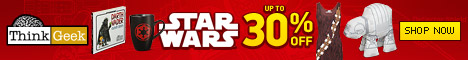 30% off Select Star Wars Gear