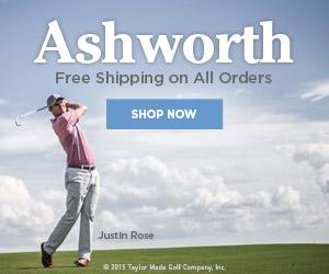 Ashworth Free Shipping